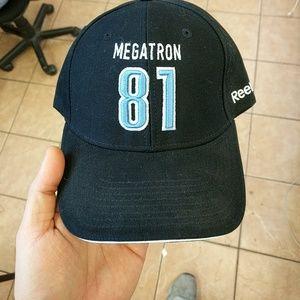 f9214af0dfe Reebok Accessories - Reebok megatron adjustable hat detroit lions